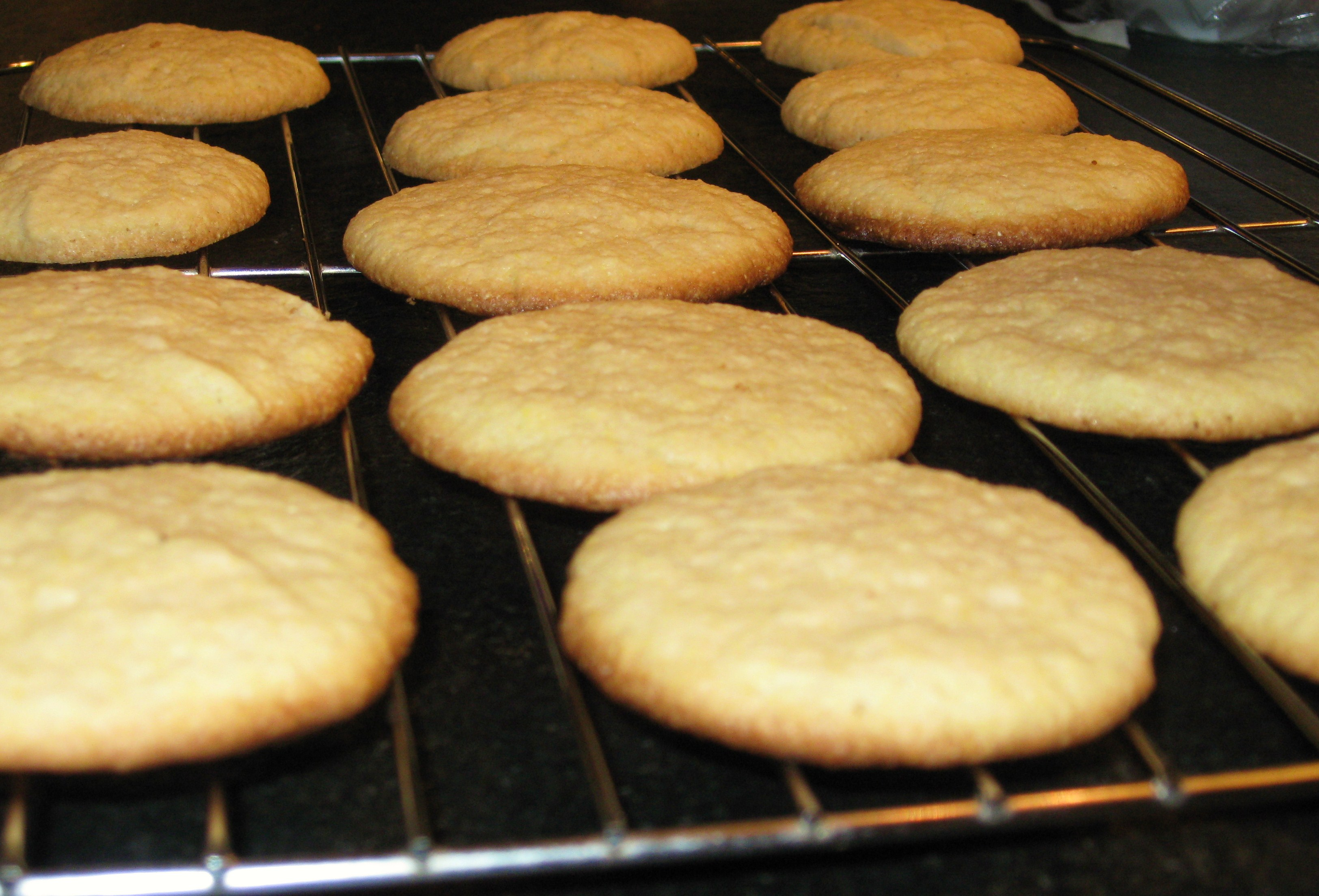 this recipe comes from the cornmeal cookies i cornmeal cookies i ...