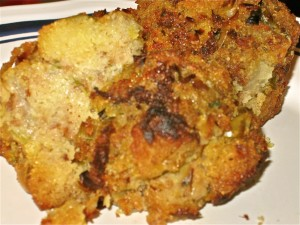 Apple & Leek Cornbread Stuffing