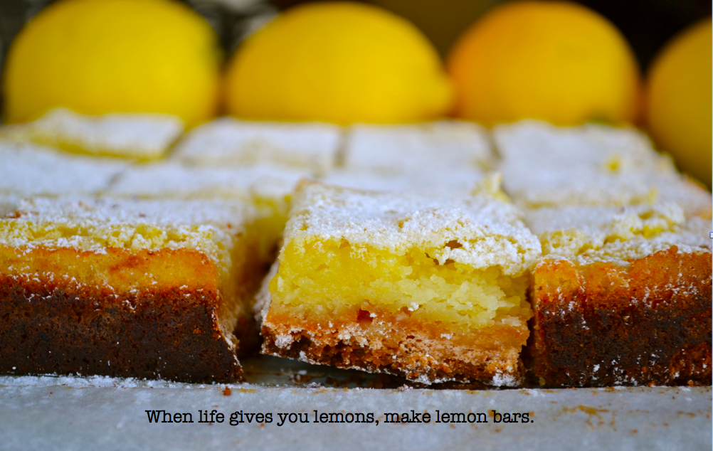 Gluten Free Lemon Bars ⋆ Great Gluten Free Recipes For