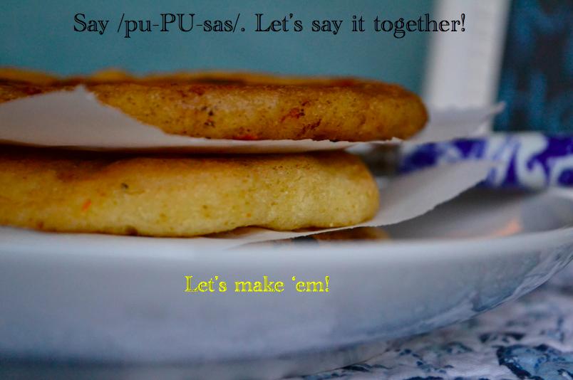 Gluten Free Pupusas