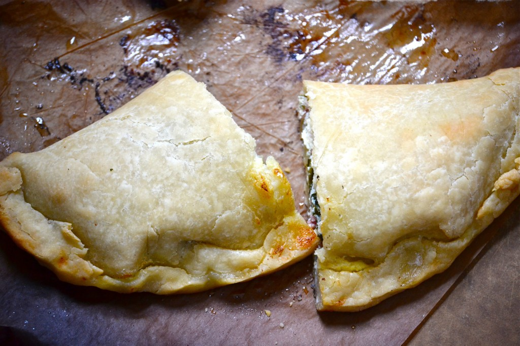 How-To Roll Out GF Pizza Dough + Calzone Recipe
