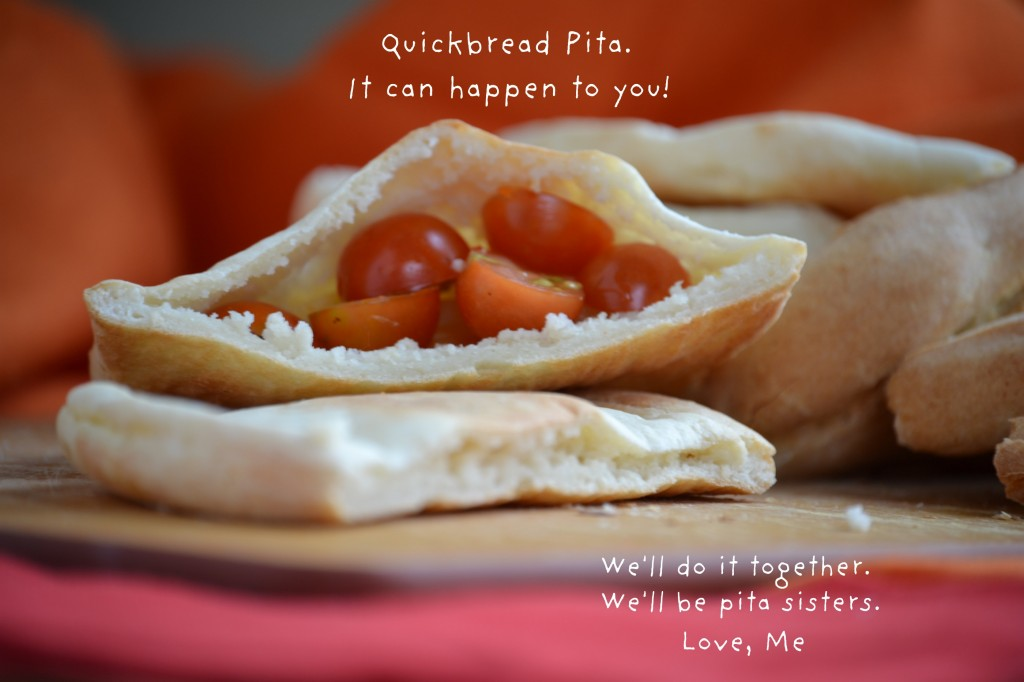 How-To Make Yeast-Free Pita Bread, Step x Step
