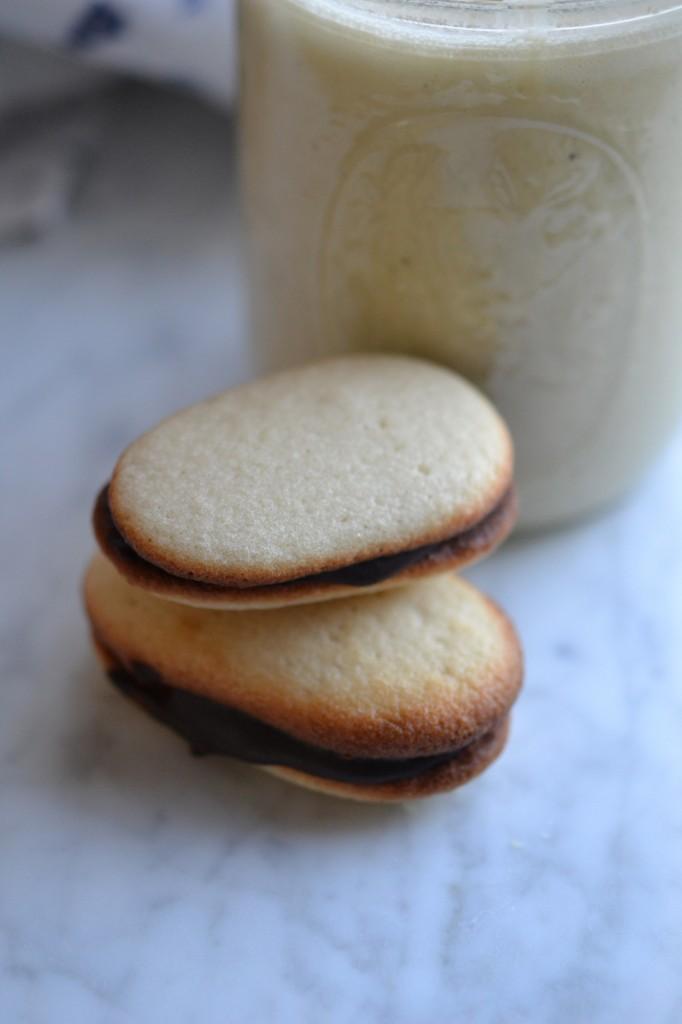 Gluten-Free Dairy Free Egg Nog + Gluten-Free Milano Cookies