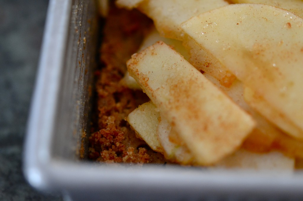 Gluten Free Apple Crumb Cake