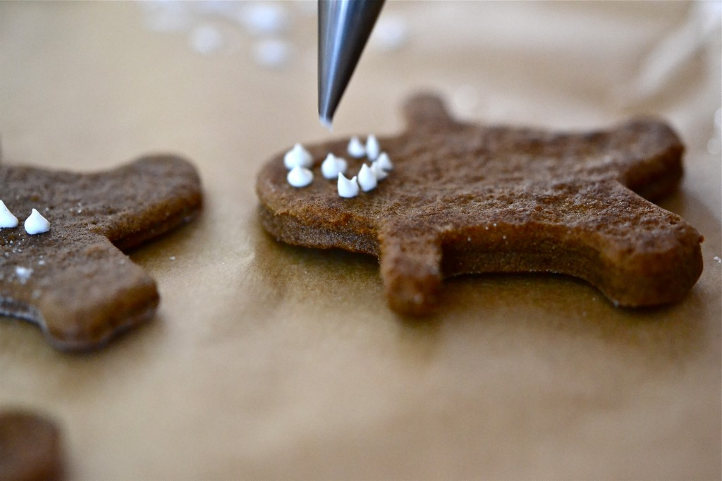 Gluten Free Dairy Free Gingerbread Men Cookies