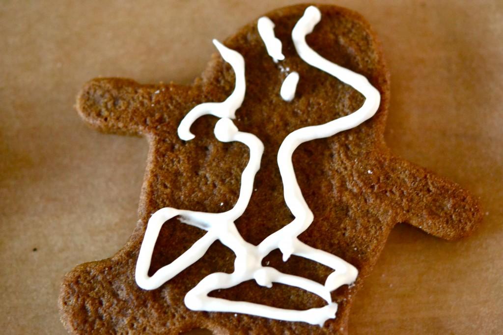 Gluten Free Dairy Free Gingerbread Men Cookies