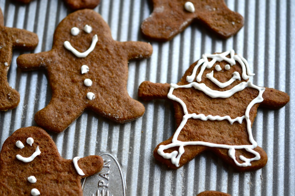 Dairy-Free Gingerbread Men. And Women. People.