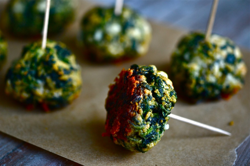 Gluten Free Spinach Ball Appetizers