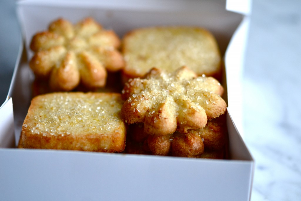 Spritz Butter Cookies – Icebox, too