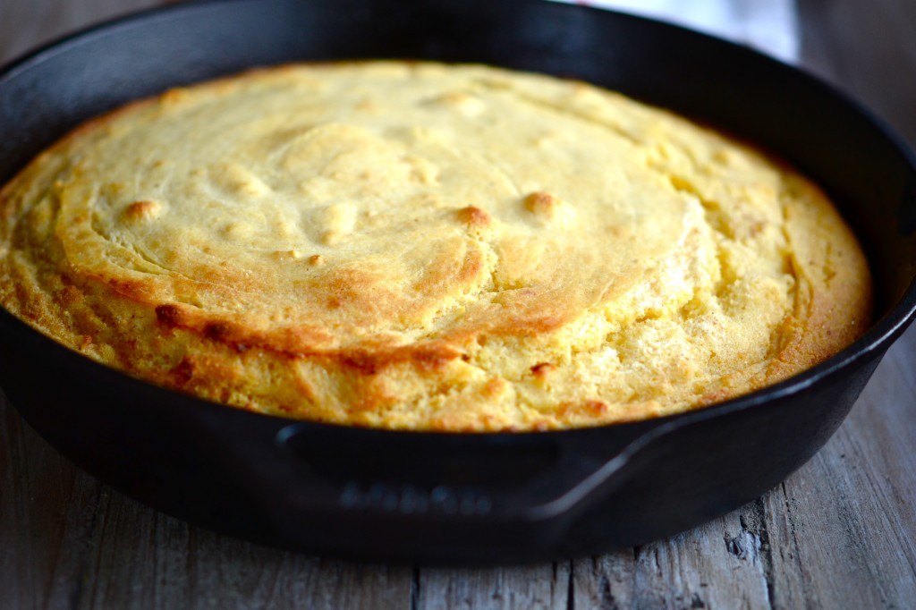 Gluten-Free Brown Butter Skillet Cornbread