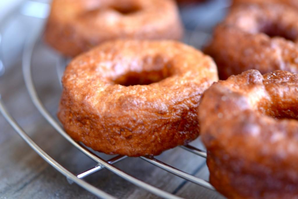 Gluten Free Glazed Yeast-Raised Donuts
