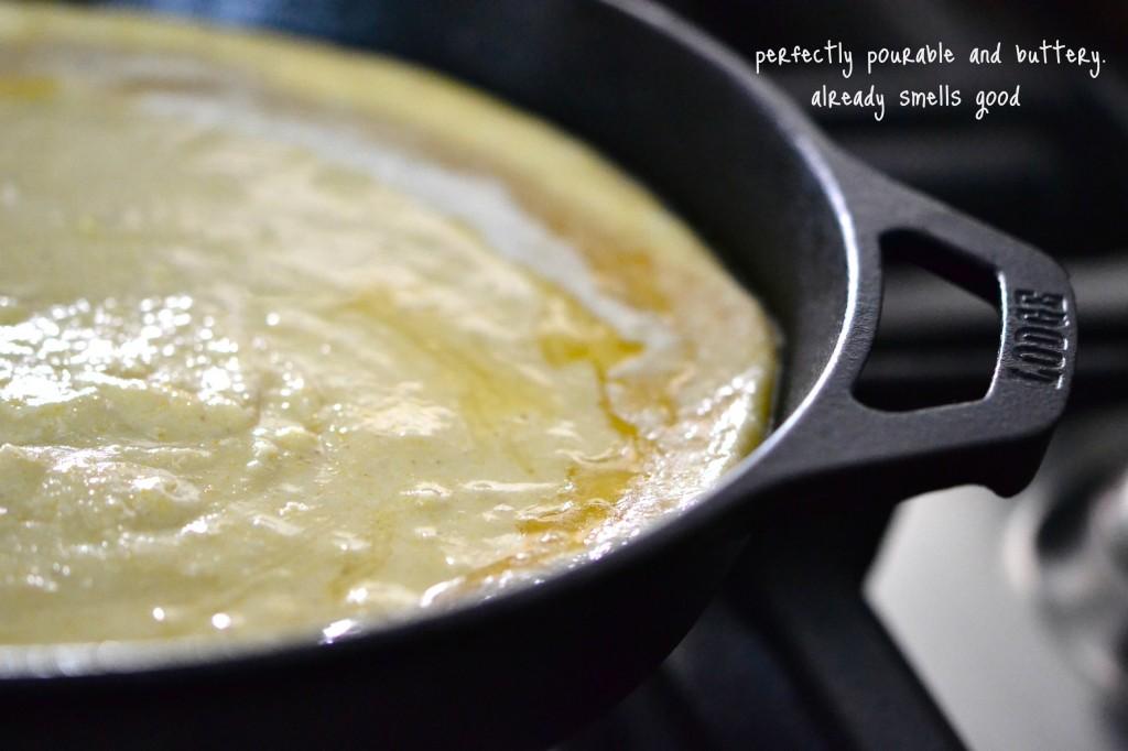 Gluten Free Brown Butter Skillet Cornbread