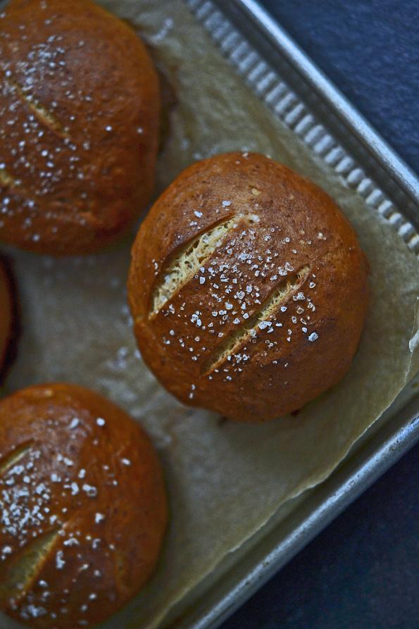 Gluten Free Bread: Soft Pretzel Rolls