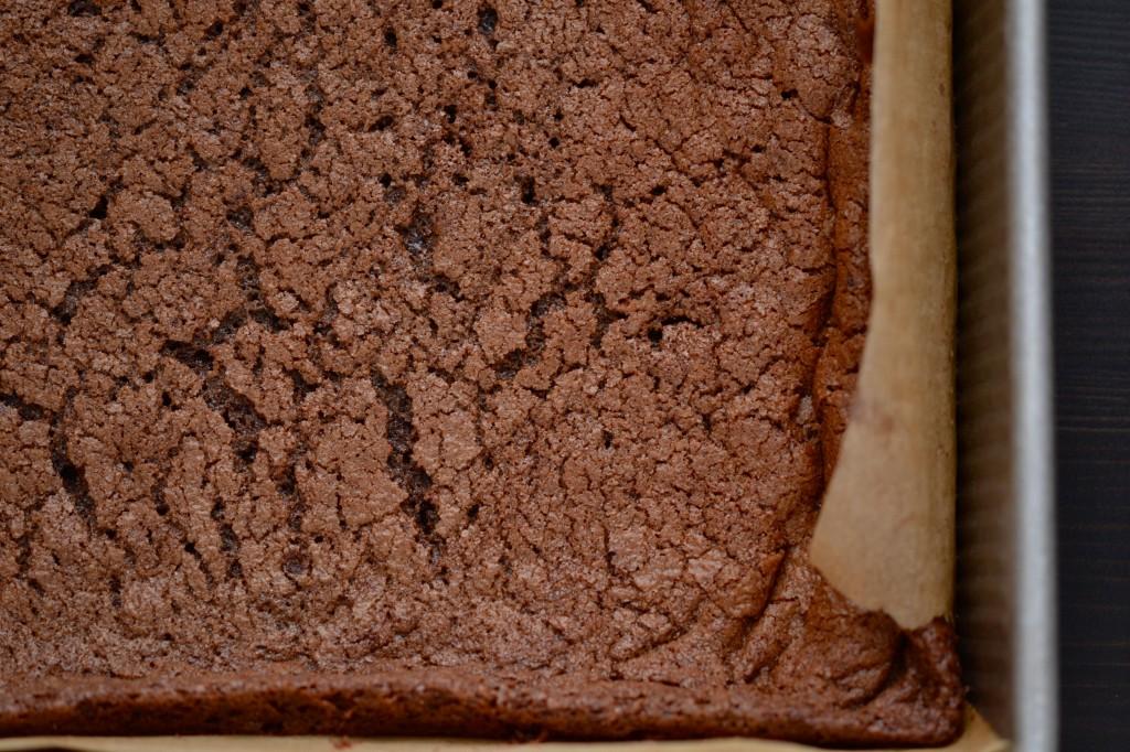 Gluten Free Mint Chocolate Grasshopper Brownies