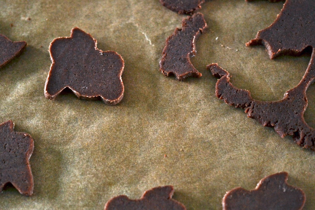 Gluten Free Chocolate Animal Crackers