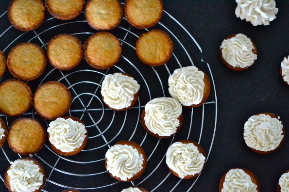 … & White Chocolate Frosting