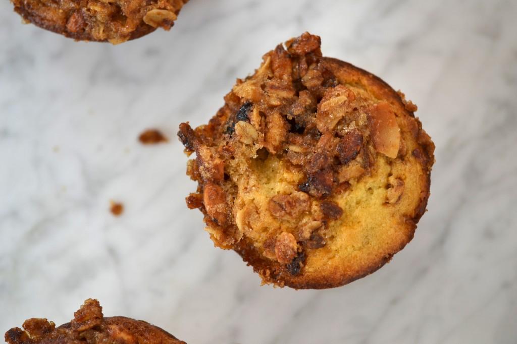 Gluten Free Granola Muffins