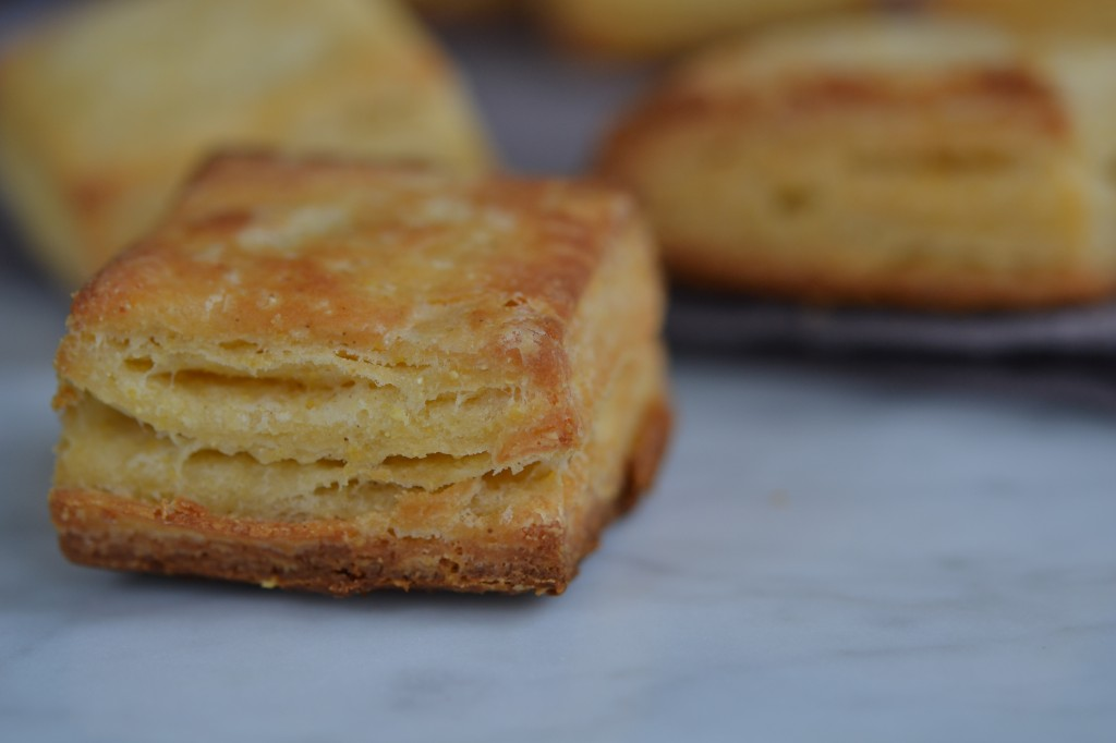 Cornmeal Biscuits Recipe — Dishmaps