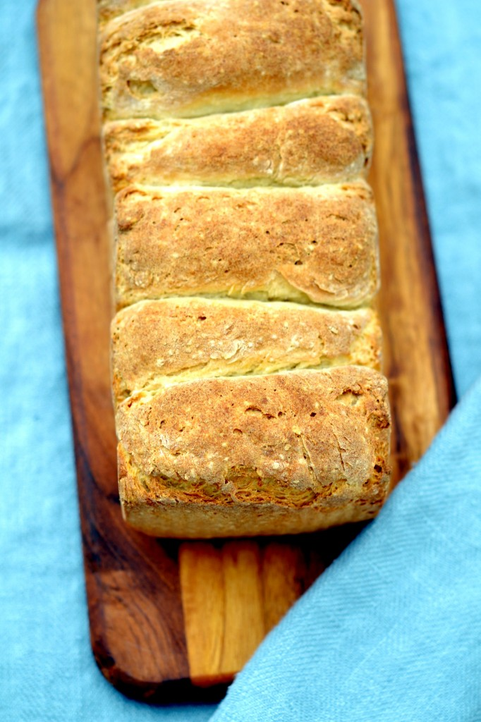 Gluten-Free Japanese Milk Bread - the softest gluten free bread ever
