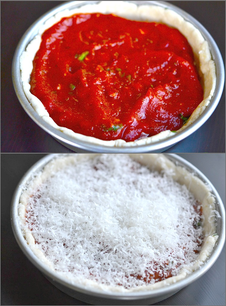 Gluten Free Deep Dish Chicago Style Pizza