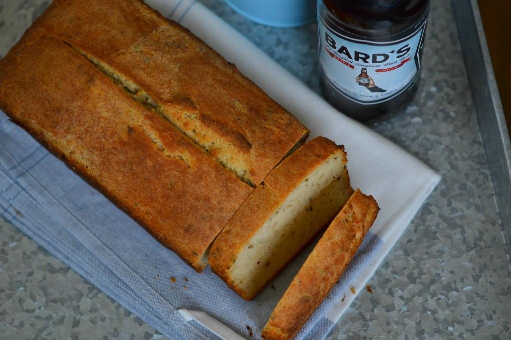 Gluten Free Herb Beer Bread