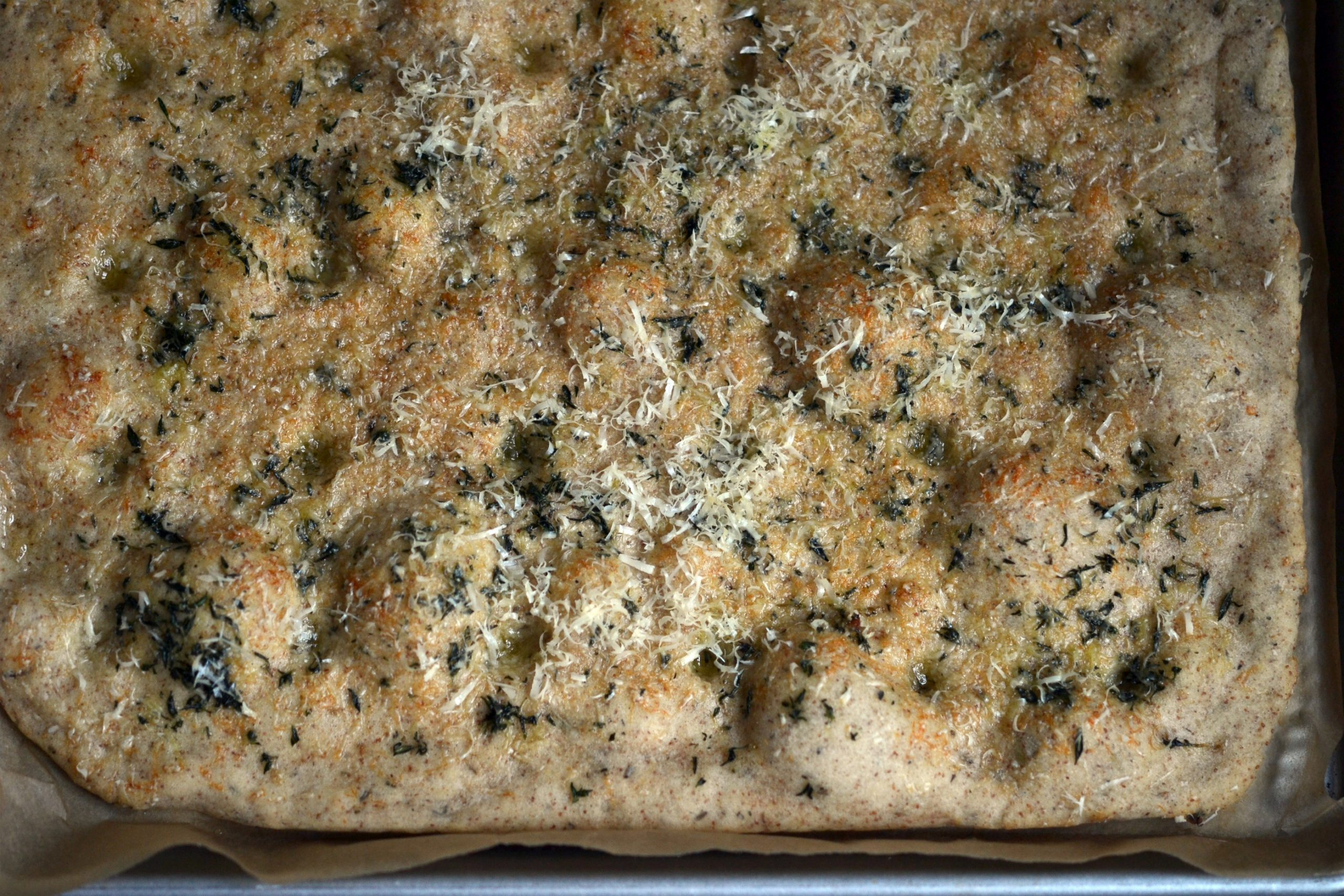 Whole Grain Parmesan & Herb Focaccia