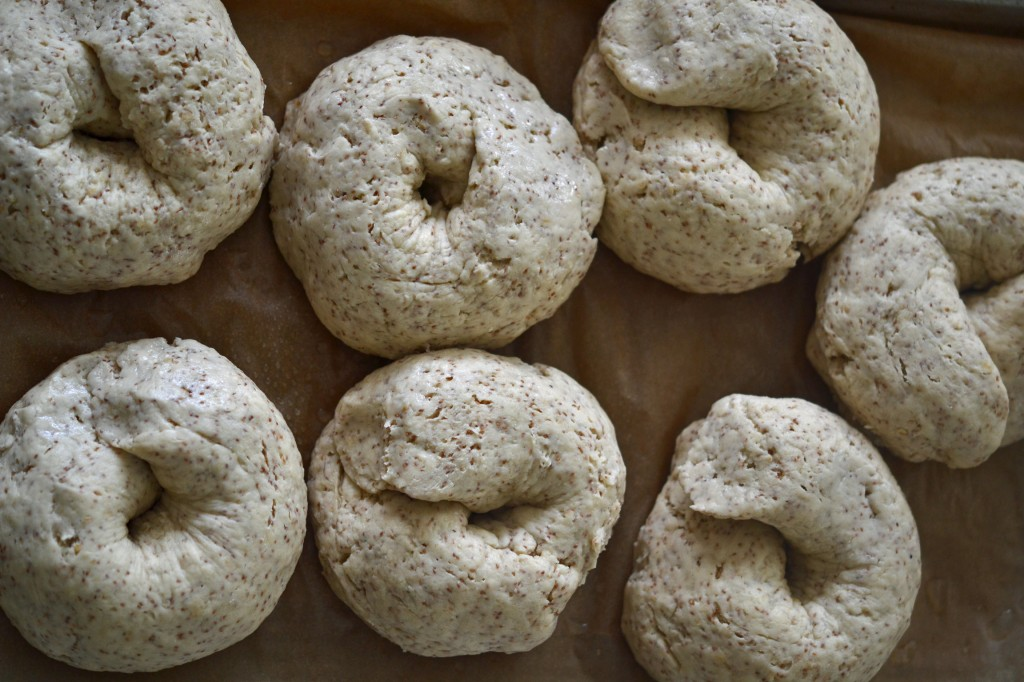 Gluten Free Bread: Whole Grain Brown Bagels