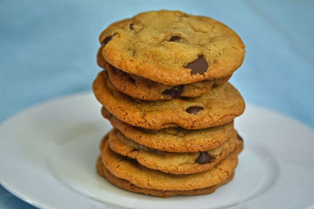 Thin & Crispy Chocolate Chip Cookies: how they get that way (+ recipe)