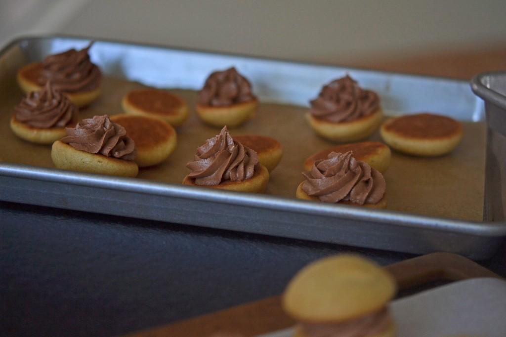 Gluten Free Vanilla Whoopie Pies