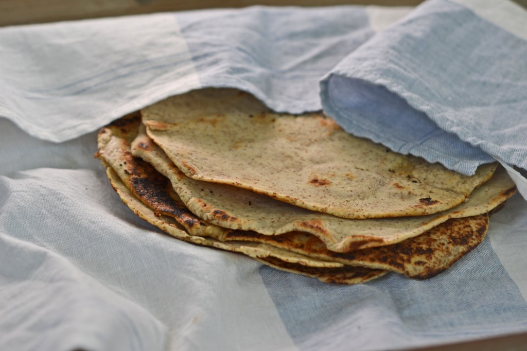 Gluten free bread: whole grain flour tortillas
