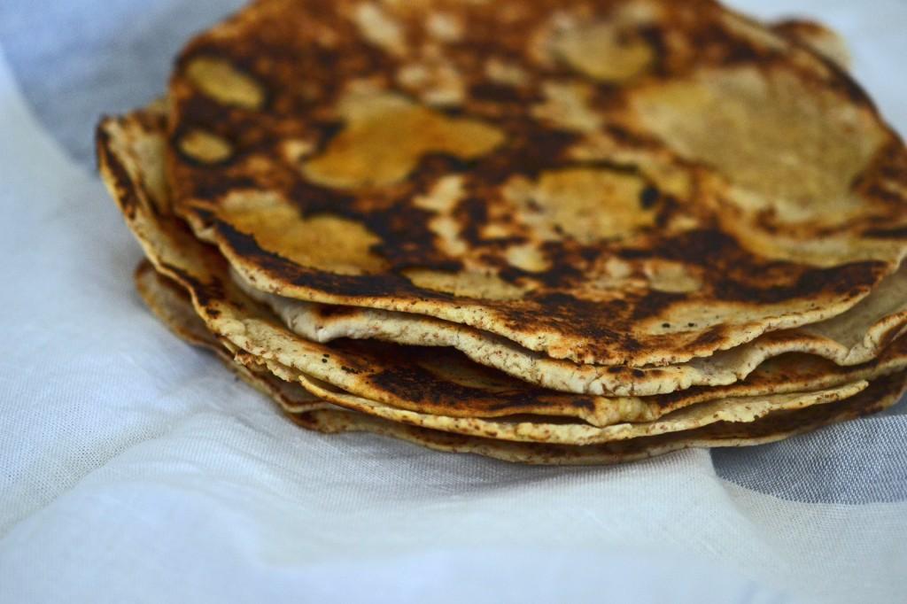 Gluten free bread: whole grain flour tortillas