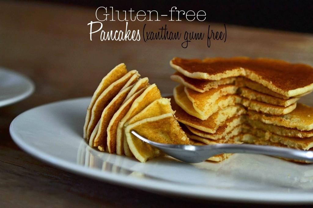 Gluten Free Pancakes, no xanthan gum
