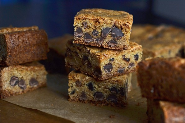 Cake flour blondies