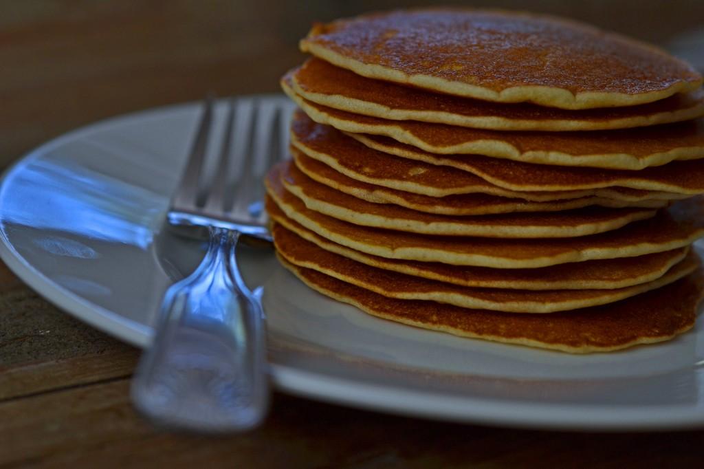 Gluten-free pancakes, no xanthan gum