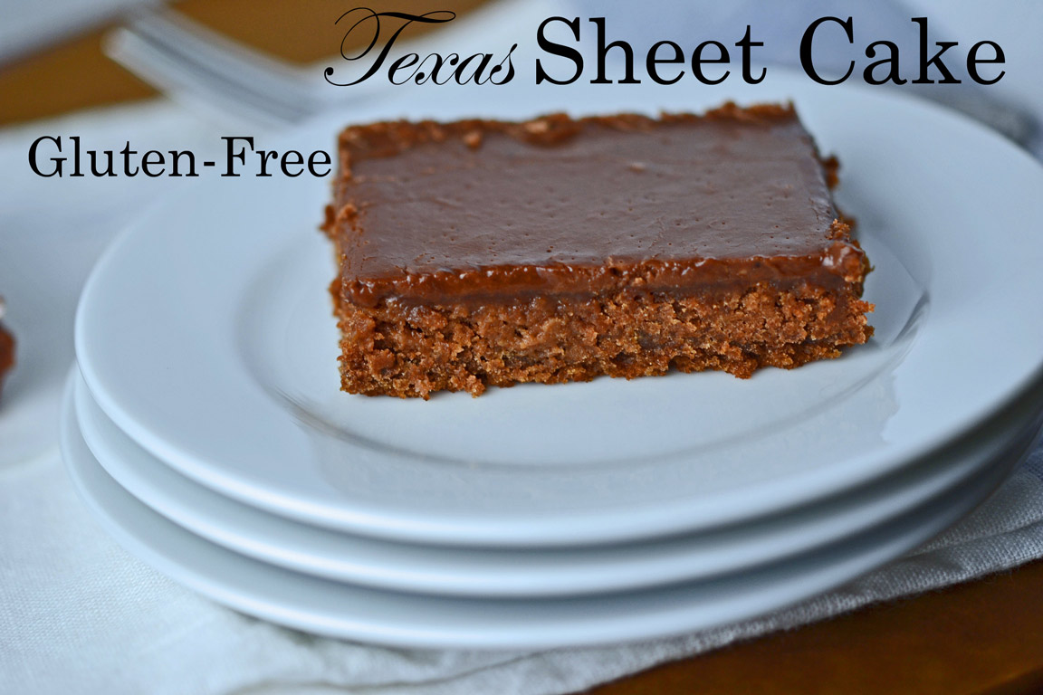 Gluten-free Texas Sheet Cake ⋆ Great gluten free recipes for ...