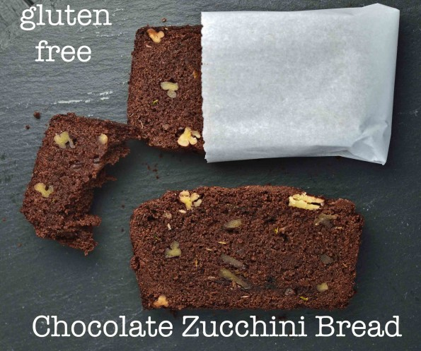 Bittersweet Chocolate Zucchini Bread