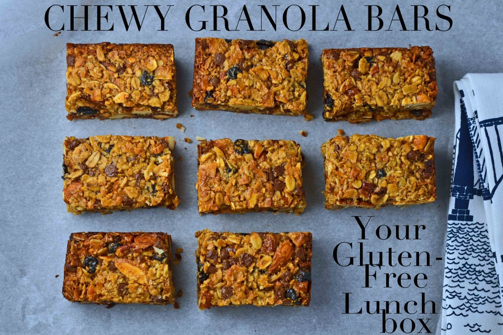 Chewy Granola Bars – Your Gluten-Free Lunchbox