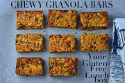 Chewy Granola Bars &#8211; Your Gluten-Free Lunchbox