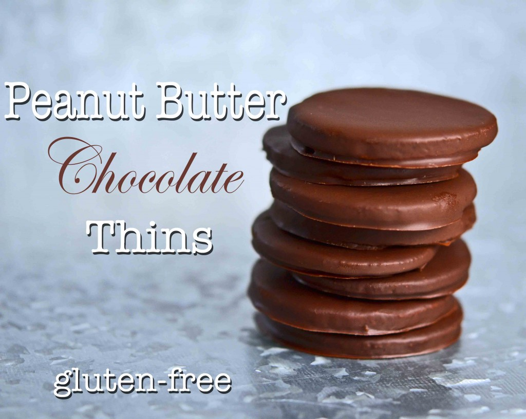 Peanut Butter Chocolate Thins Cookies
