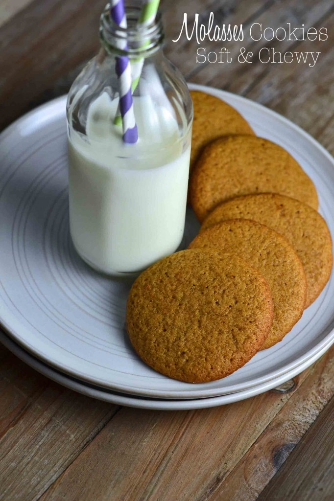Molasses Cookies – Soft & Chewy