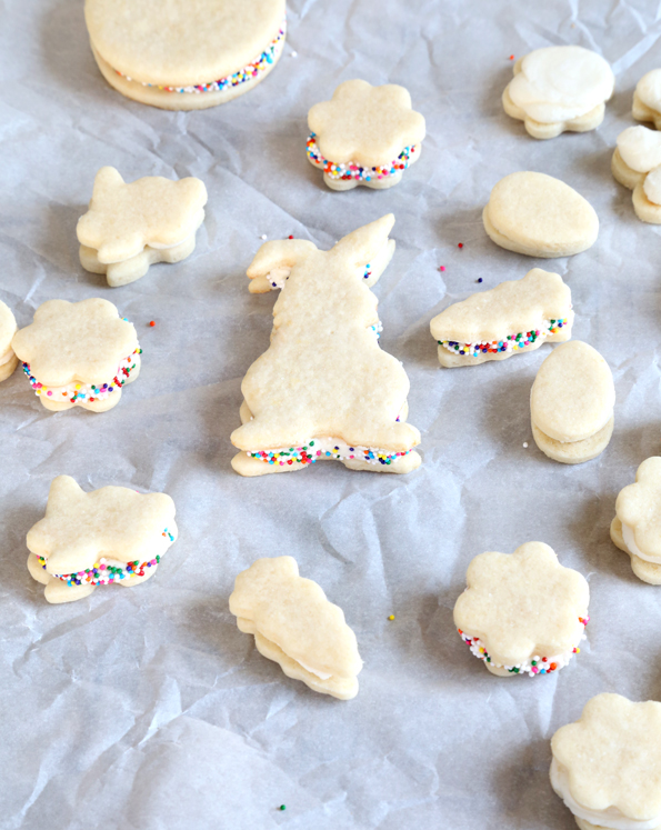 Soft Frosted Gluten Free Sugar Cookies