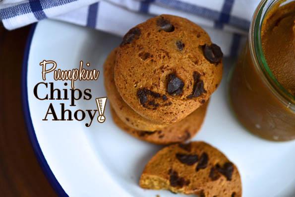 Pumpkin Chips Ahoy! Cookies