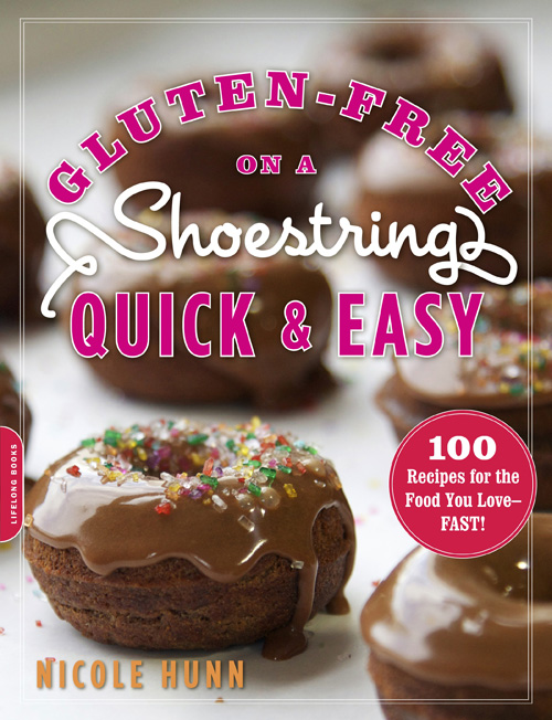 "FREE Exclusive Ebook when you Preorder ""Gluten-Free on a Shoestring Quick & Easy"""