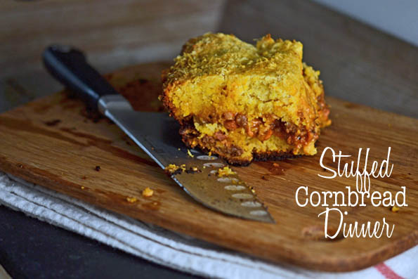 Stuffed Cornbread Dinner
