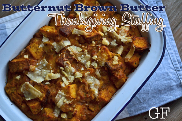 Butternut Brown Butter Thanksgiving Stuffing