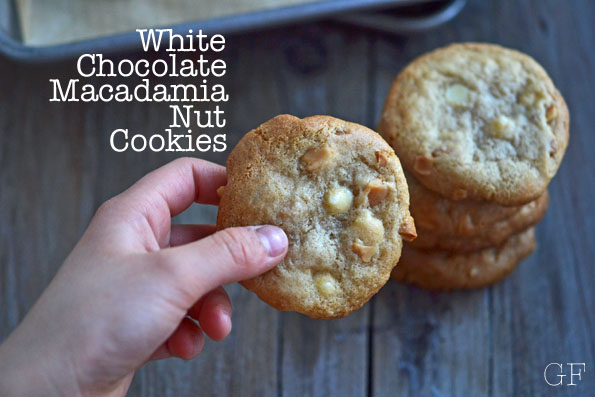White Chocolate Macadamia Nut Cookies (with toasted nuts!)
