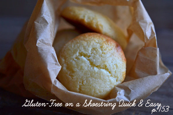 Cheesecake Cookies, a preview recipe from Gluten-Free on a Shoestring Quick & Easy!