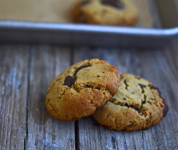 Gluten Free Paleo Like Chocolate Chip Cookies