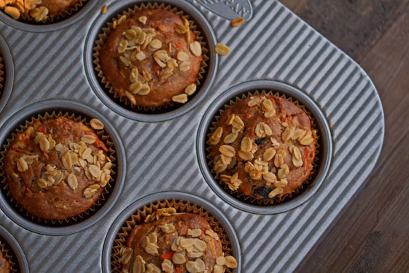 Gluten-Free Healthy Morning Glory Muffins