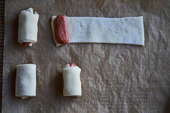 Gluten Free Pigs in a Blanket